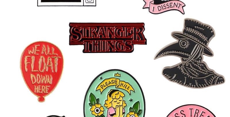 GeekPin Collection - Harry Styles|Ginsburg|Plague Doctor|Stranger Things|Etc
