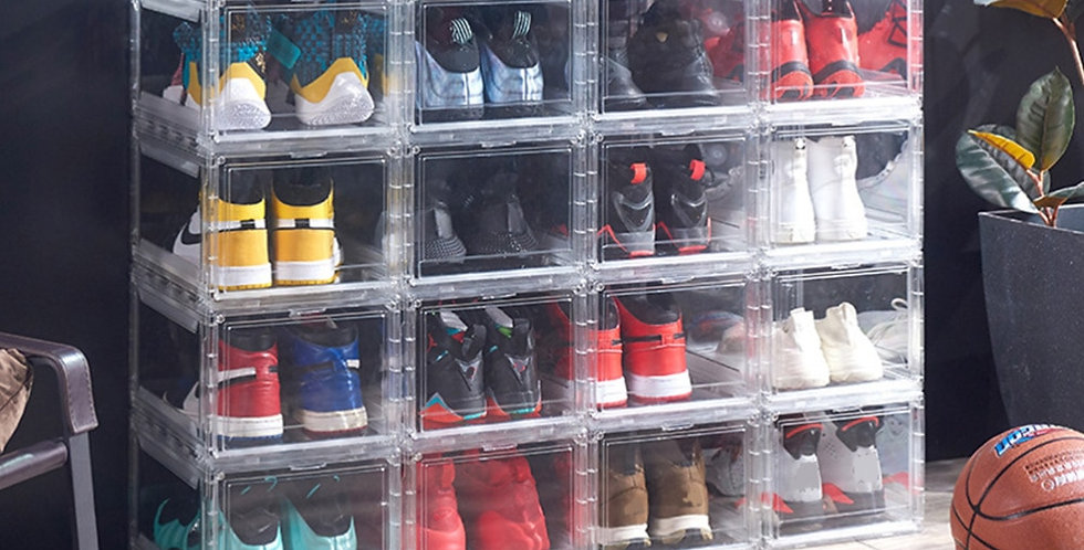 Transparent Collectible Storage Case | Shoes Sneakers Collectibles Box Display
