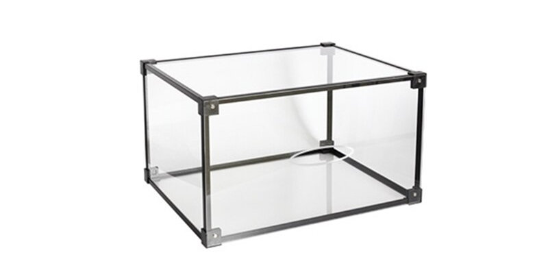 Transparent Acrylic Storage Display Box | Dustproof for Collectibles