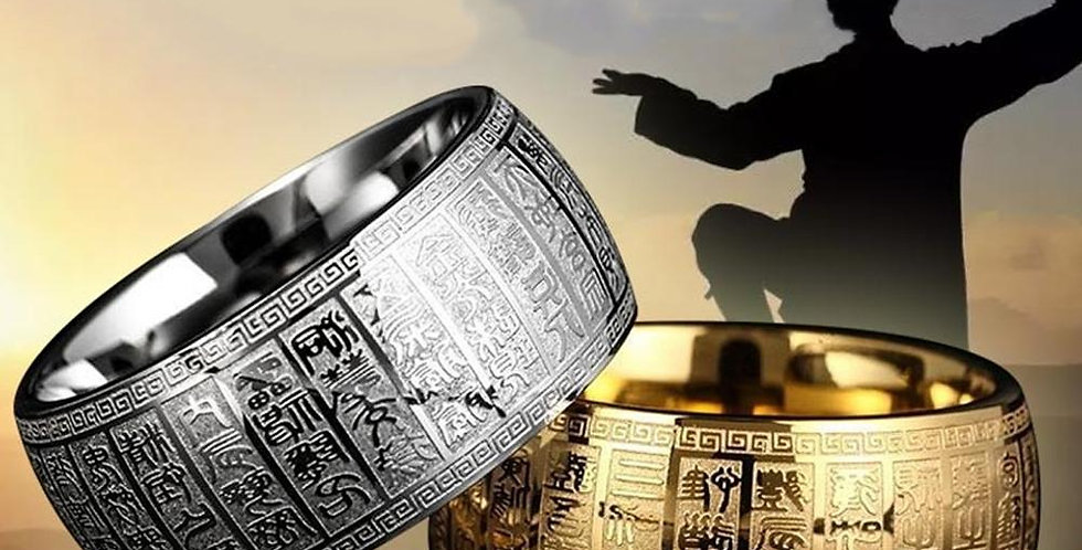 Ancient Chinese Rune Ring | Unique Geek