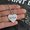 Thumbnail: Geek Wear | Witch Heart Engraved Necklace