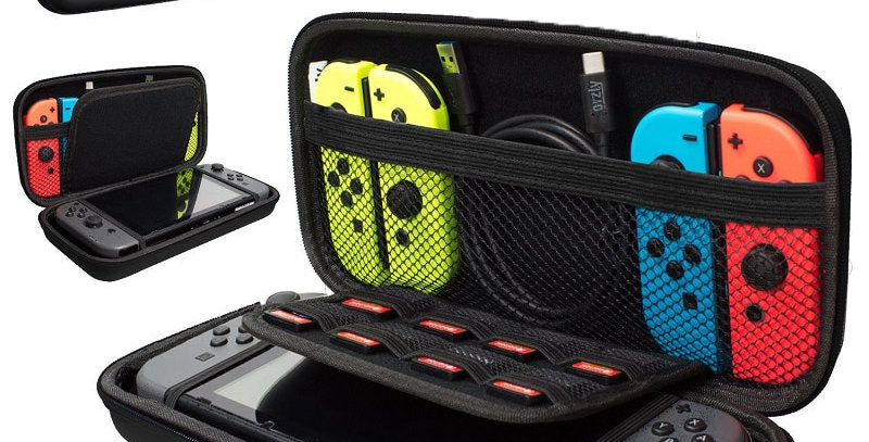 Portable Hard Shell Case for Nintendo Switch | Console Accessories Case