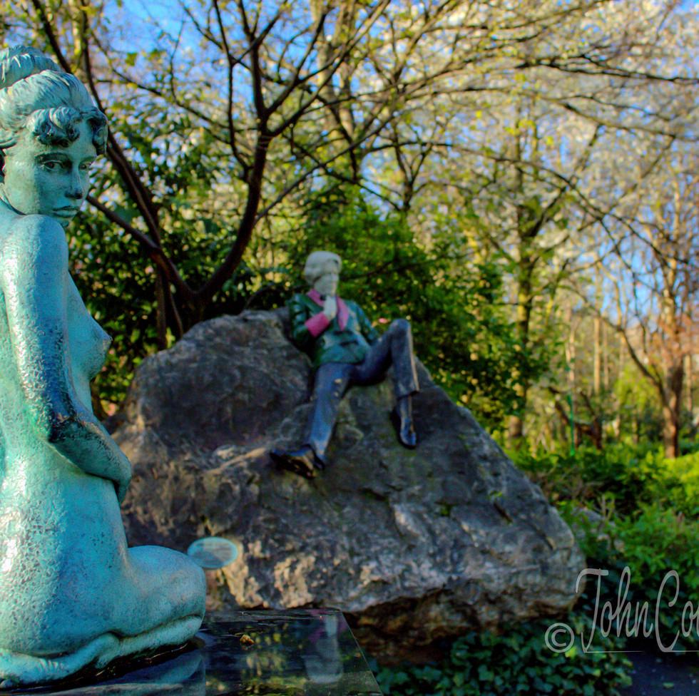 Constance Lloyd and Oscar Wilde