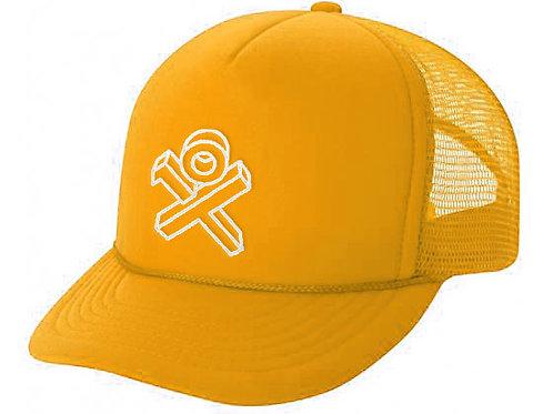 Yellow Sponge Trucker Hat