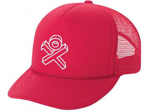 Red OG Sponge Trucker Hat