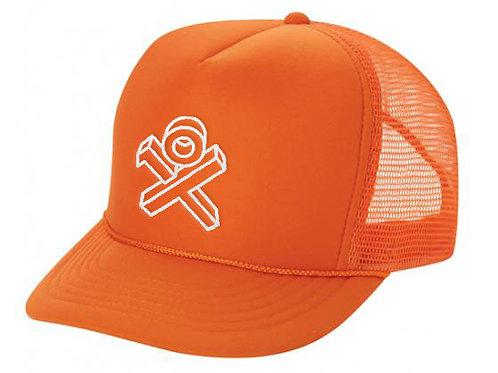 Infra Orange Sponge Trucker Hat