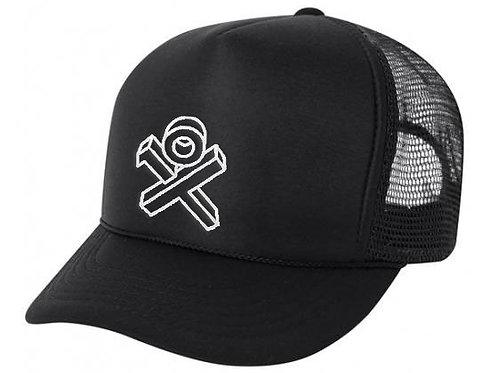 Black Sponge Trucker Hat