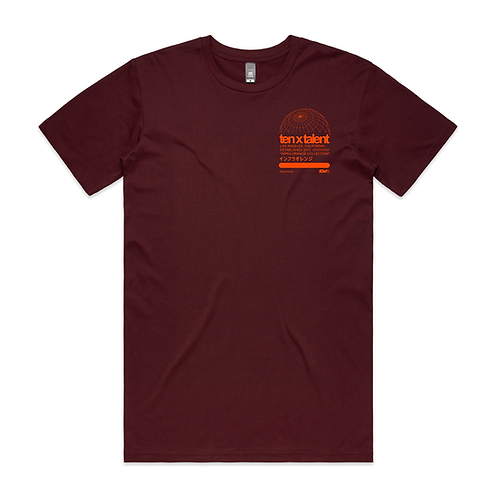 Infra Orange Collection T (Burgundy)