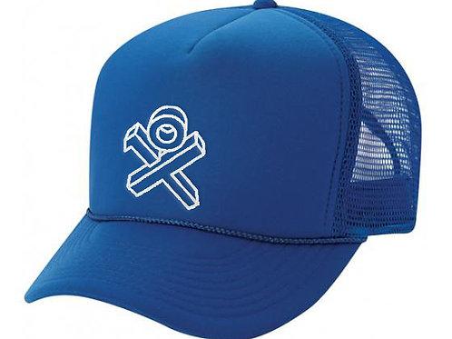 Dodger Blue Sponge Trucker Hat