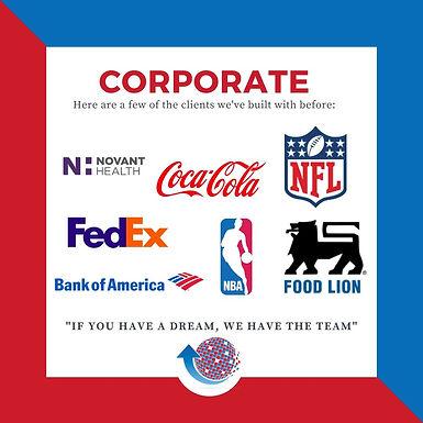 Corporate Partial Client List