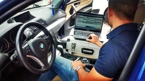 Escaneo de vehículo