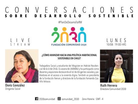 Quinta sesión de Conversaciones Sostenibles: Doris Gonzalez (vocera de Ukamau)