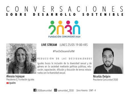 Cuarta sesión de Conversaciones sobre Desarrollo Sostenible con Alessia Injoque