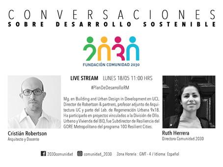 Tercera sesión de Conversaciones sobre Desarrollo Sostenible con Cristián Robertson