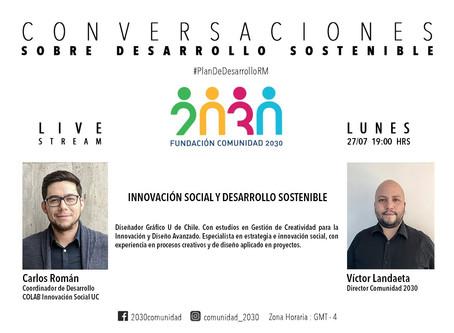 Tercera sesión del segundo ciclo de Conversaciones Sostenibles: Carlos Román (CoLab UC)