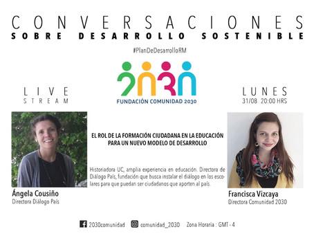 Séptima Sesión de Conversaciones Sostenibles: Ángela Cousiño de Dialogo País.