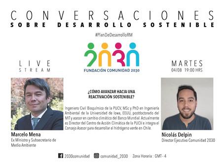 Cuarta sesión de Conversaciones Sostenibles: Marcelo Mena (Centro Accion Climatica PUCV)