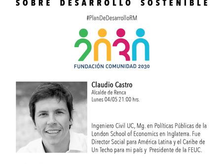 Primera sesión de Conversaciones sobre Desarrollo Sostenible con el Alcalde Claudio Castro