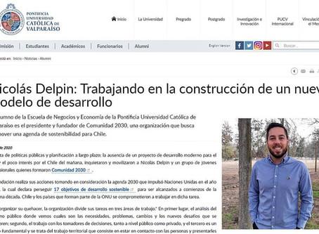 """Entrevista en la PUCV: """"Trabajando en la construcción de un nuevo modelo de desarrollo"""""""