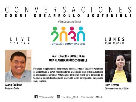Primera sesión del segundo ciclo de Conversaciones sobre Desarrollo Sostenible: Mario Orellana