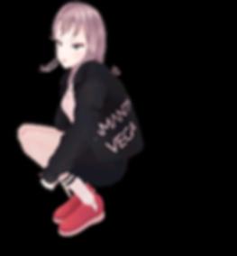 バーチャルキャラクター 織女星