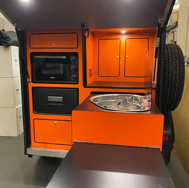 Grand Tourok kitchen