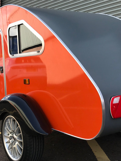 Rear near side view