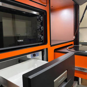 Grand Tourok Kitchen ( Orange Units plus