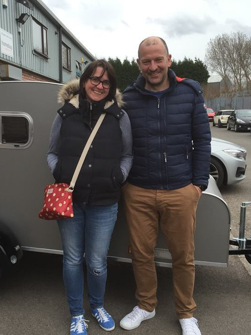 Louise and Neil collected their Nodpod.j