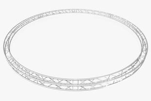 Circle Square Truss (Full diameter 800cm)