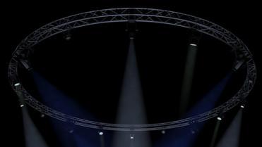 CircleSquare Truss 1000cm-Stage Lights