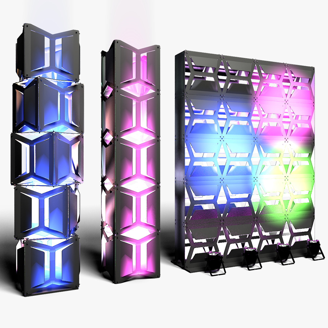 Stage Decor 19 Modular Wall Column