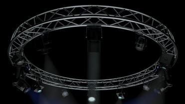 Circle Square Truss 400cm-Stage Lights
