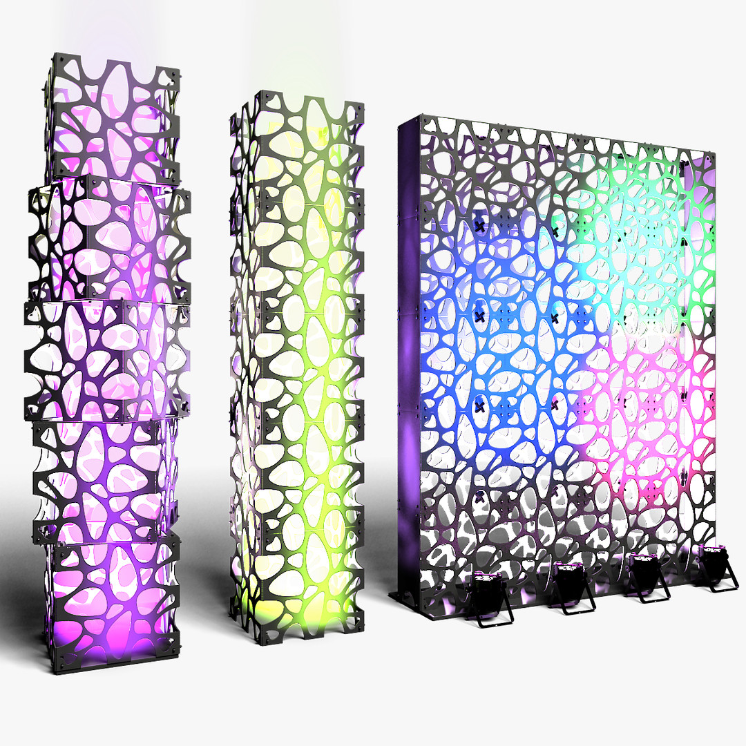 Stage Decor 03 Modular Wall Column