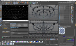 41-01-TVStudioStage-TrussLights-VrayC4d.