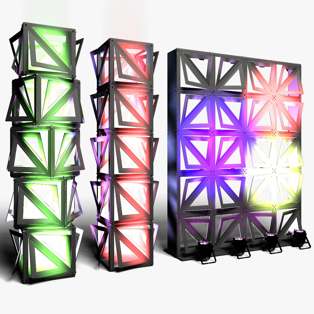 Stage Decor 20 Modular Wall Column