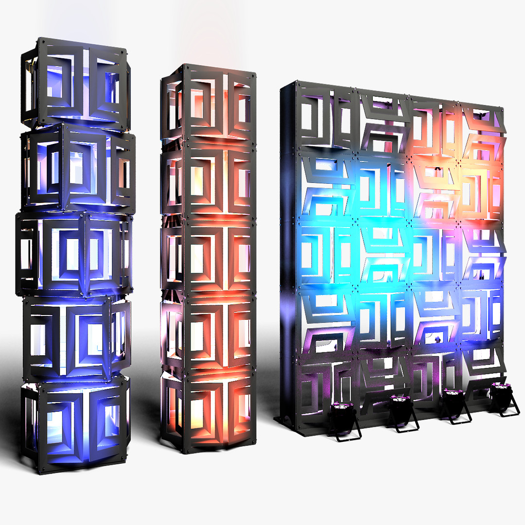 Stage Decor 21 Modular Wall Column