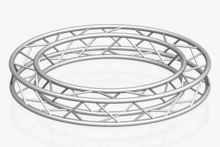 Circle Square Truss (Full diameter 200cm)