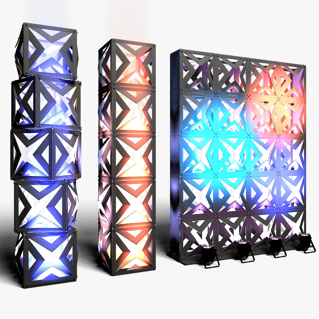 Stage Decor 17 Modular Wall Column