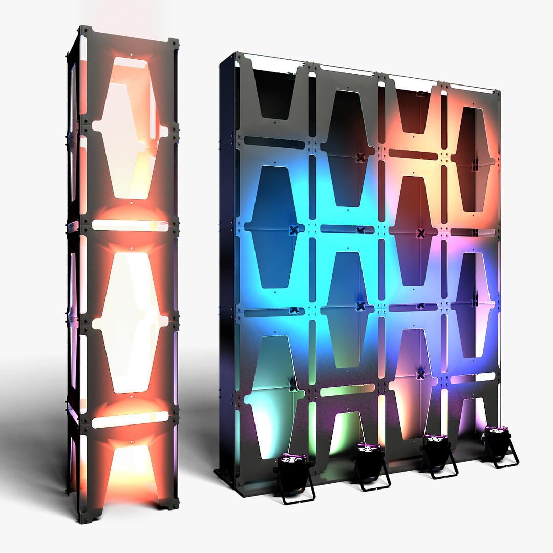 Stage Decor 30 Modular Wall Column