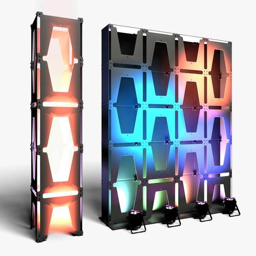 Stage Decor 30 Modular Wall Column