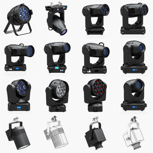 Stage Lighting Collection 14 Pieces