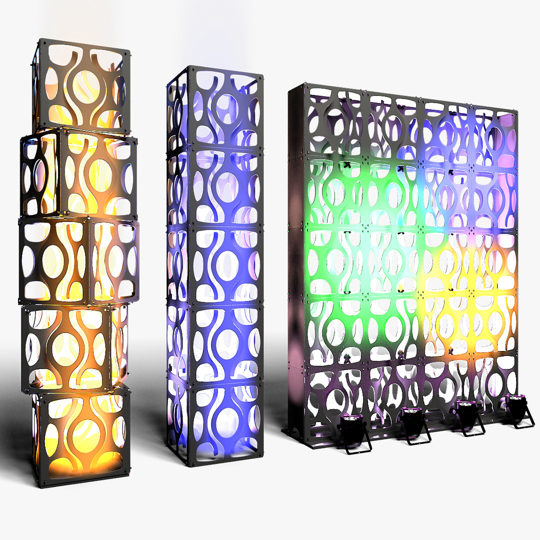 Stage Decor 16 Modular Wall Column
