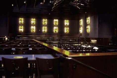 Inside the Blue Note Jazz Club, Las Vegas