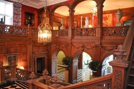 Greystone Mansion Entrance