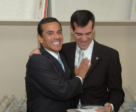 Mayor Villaregosa, and Garcetti