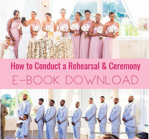 How to Conduct a Rehearsal & Ceremony E-Book