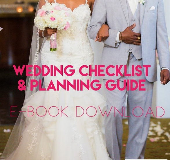 Wedding Checklist & Planning Guide E-book