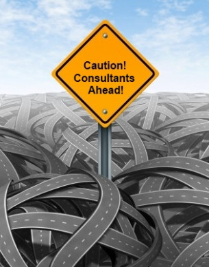 Caution! Consultants Ahead!