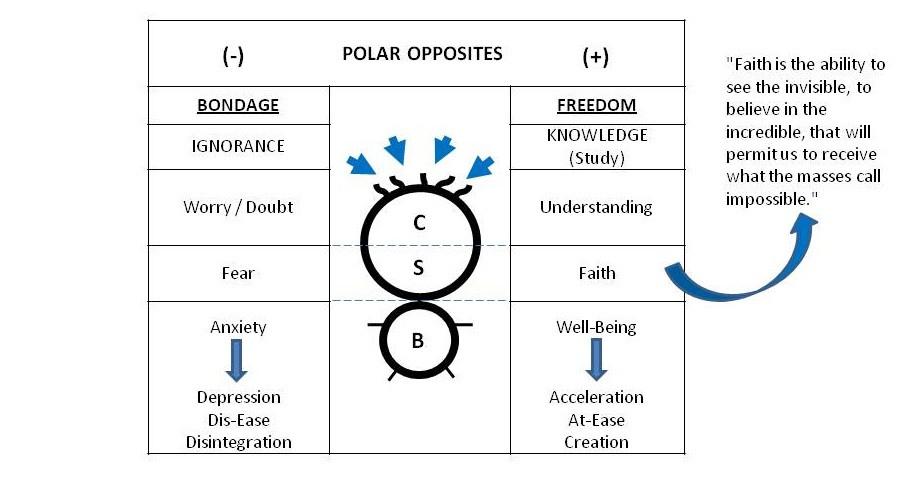 Diagram of Polar Opposites